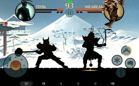 Тестирование игры Shadow Fight 2 на Cube iWork8 Air