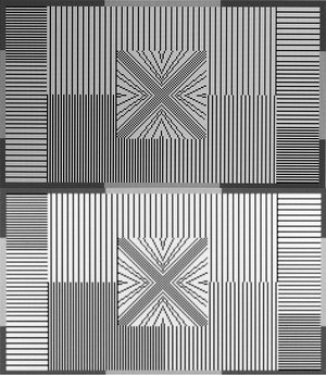 Сравнение каптинок в оригинальной 1440p матрице и с интерполяцией из 4K