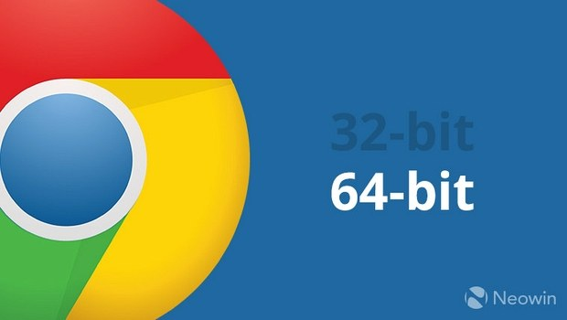 Google Chrome установит 64-битную версию