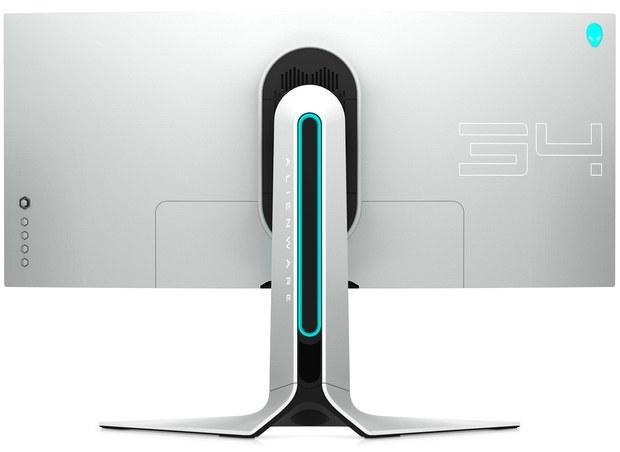 Монитор Alienware AW3420DW. Вид сзади