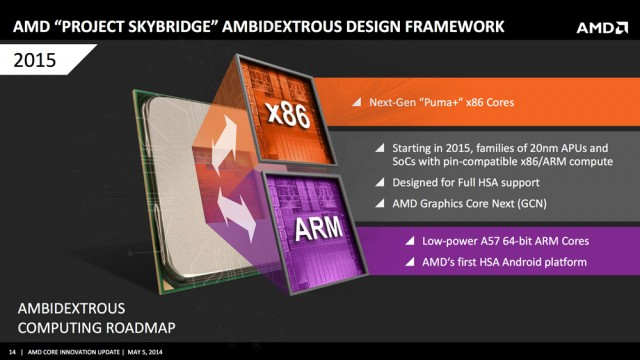 Проект AMD Skybridge