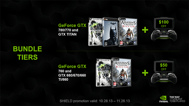 Комплекты NVIDIA Holiday+
