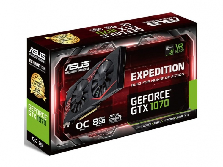 Asus GeForce GTX 1070 Ti Expedition