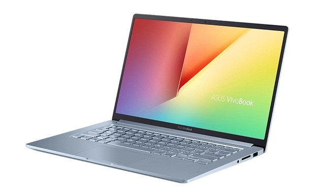 Ультрабук Asus VivoBook 14 в раскрытом виде