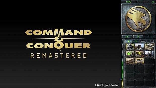 Меню в Command & Conquer Remastered