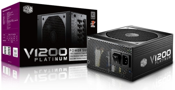Блок питания Cooler Master V Series V1200 Platinum