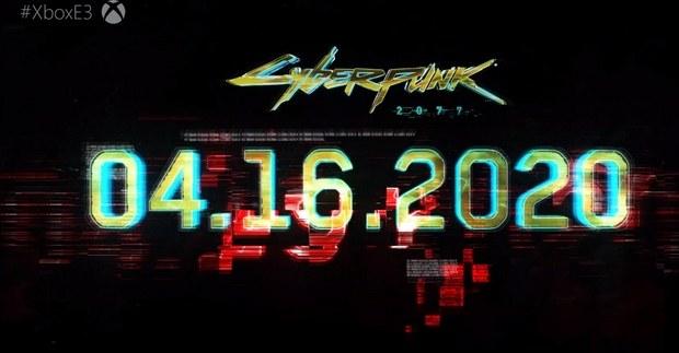 Релиз Cyberpunk 2077 состоится 16 апреля 2020 года