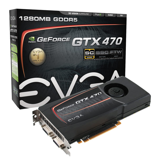 EVGA GeForce GTX 470 SC