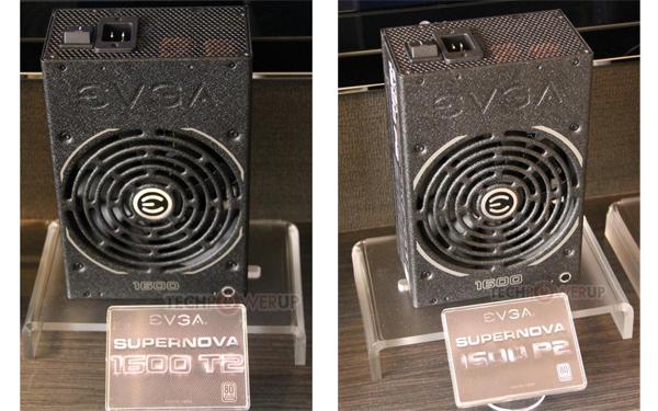 Блоки питания EVGA Supernova 1600 P2 и T2