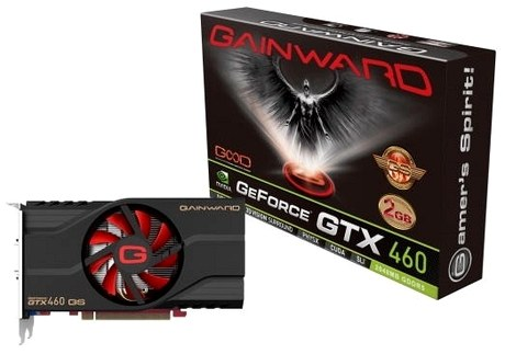 Видеокарта Gainward GTX 460 2GB Golden Sample