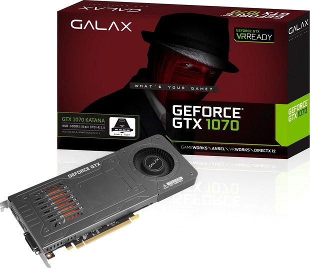 GALAX GeForce GTX 1070 KATANA