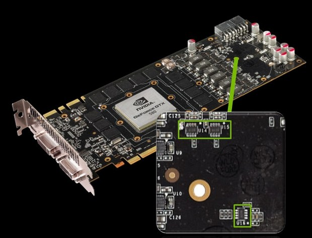 GeForce GTX 580 overvoltage protection