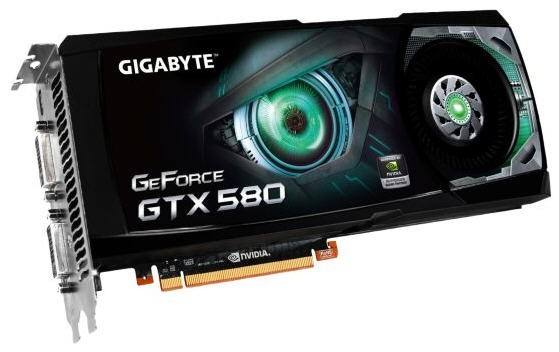 GeForce GTX 580 от Gigabyte