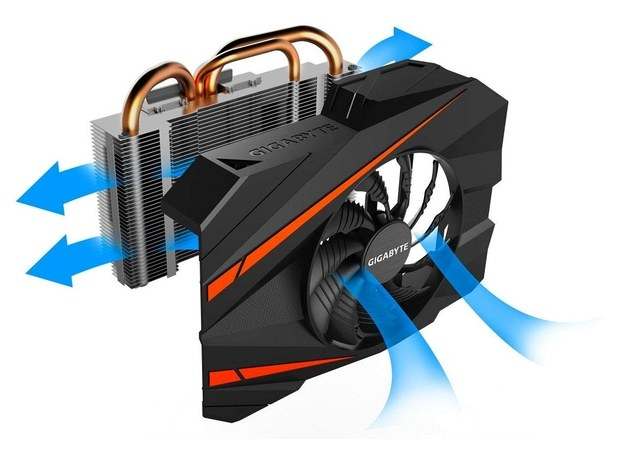 Gigabyte GeForce GTX 1070 GV-N1070IXOC-8GD