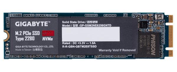 Накопитель Gigabyte M.2 PCIe SSD