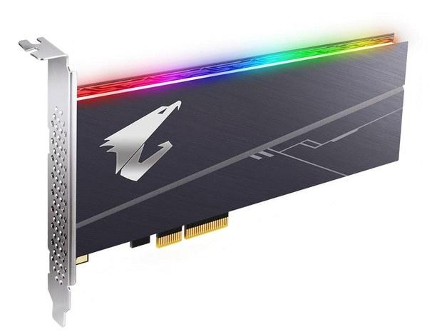Накопитель AORUS RGB AIC NVMe SSD