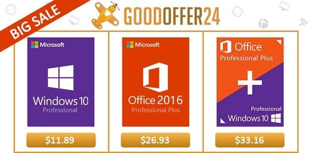 Скидки на программное обеспечение в Goodoffer24.com
