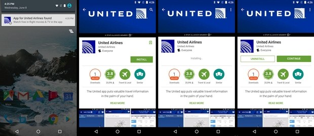 United Airlines App