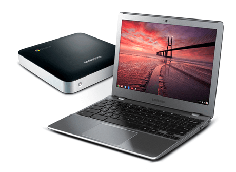 Chromebook и Chromebox модели 5500