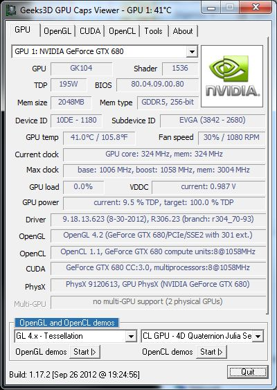 GPU Caps Viewer 1.17.2