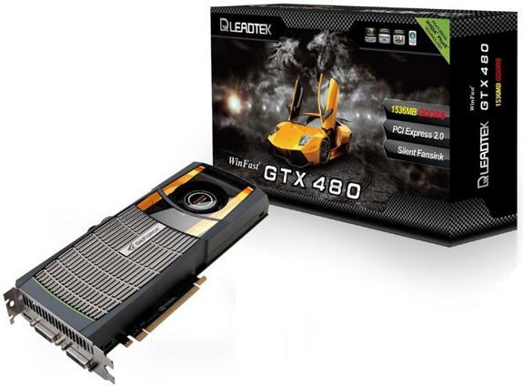 Leadtek GeForce GTX 480