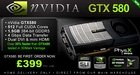 Цена на NVIDIA GeForce GTX 580