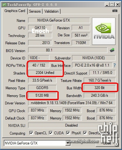 GeForce GTX Titan LE