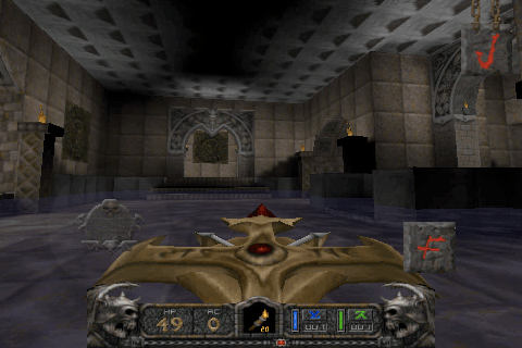 Hexen II on iPhone