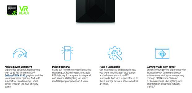 HP Omen с видеокартой GTX 1180