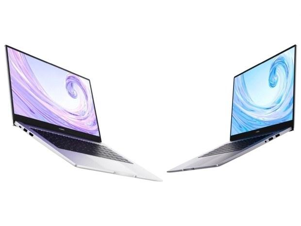 Ноутбуки Huawei Matebook D14 и D15 в открытом виде