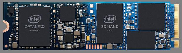 Гибридный накопитель Intel Optane H10