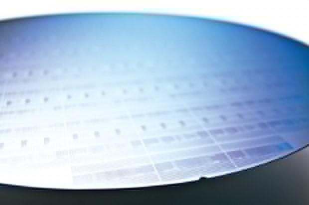 Пластина с микросхемами