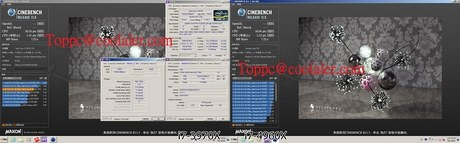 Бенчмарк Core i7-4960X Ivy Bridge-E в Cinebench
