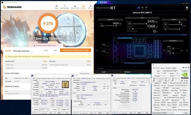 Разгон RTX 2080 Ti до 2415 МГц