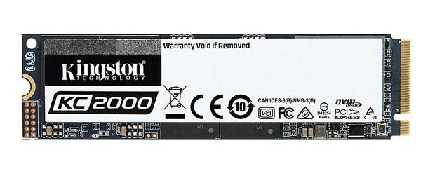 SSD Kingston KC2000 с 256-битным шифрованием
