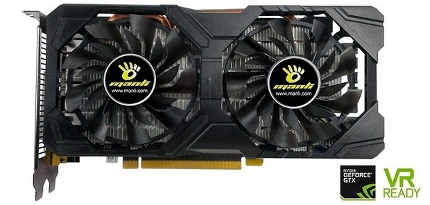 Видеокарта Manli GeForce GTX 1080