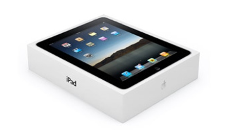 Apple iPad в упаковке