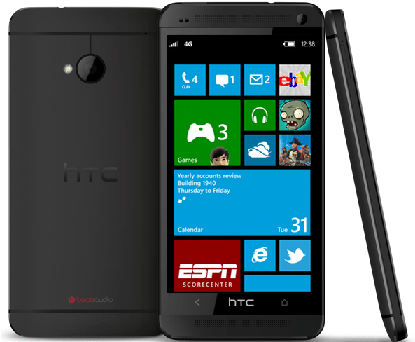 Windows Phone 8 на HTC