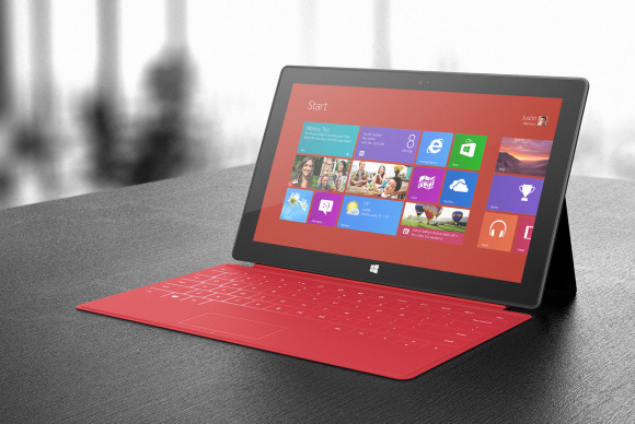 Планшет Microsoft Surface RT