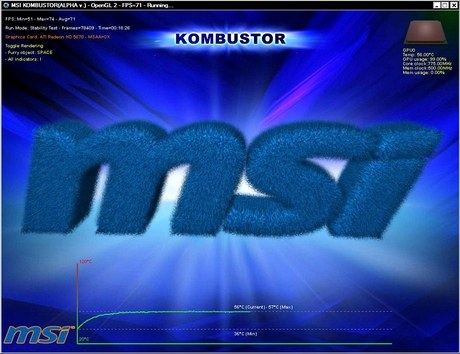 MSI Kombustor stress-test