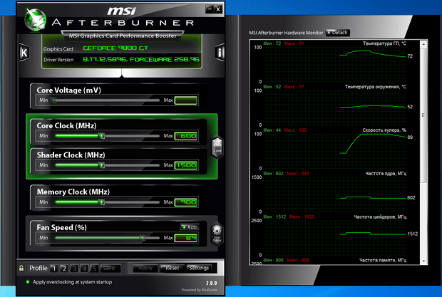 MSI Afterburner 2.0