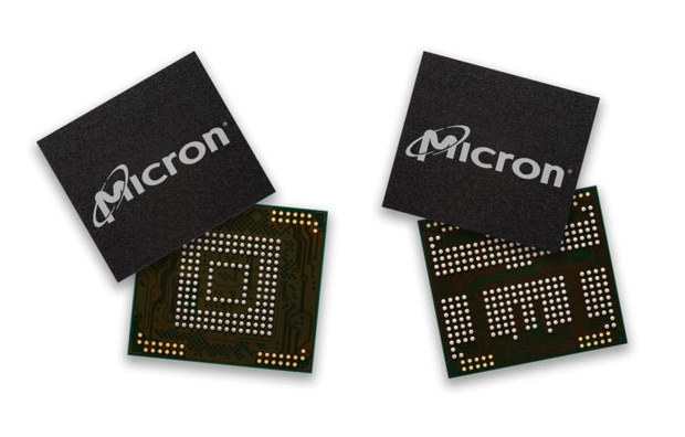 3D NAND память от Micron