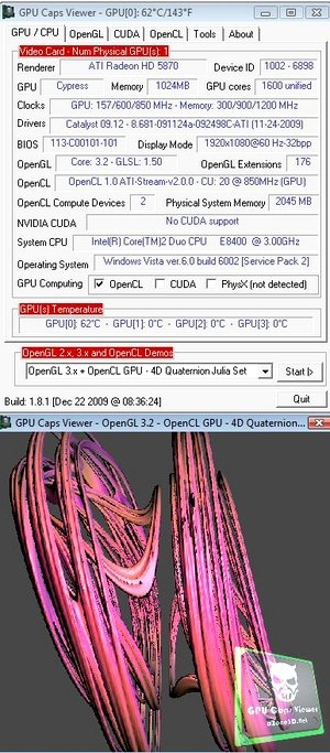 GPU Caps Viewer 1.8.1