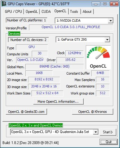 GPU Caps Viewer 1.8.2