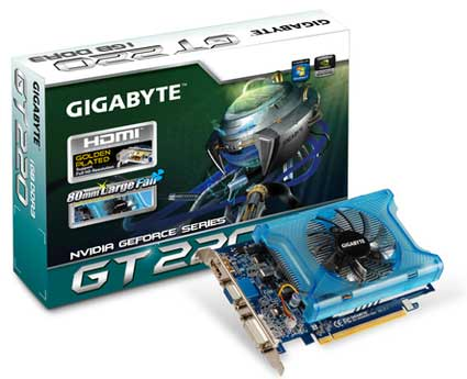 Nvidia Geforce GT 220 драйвера