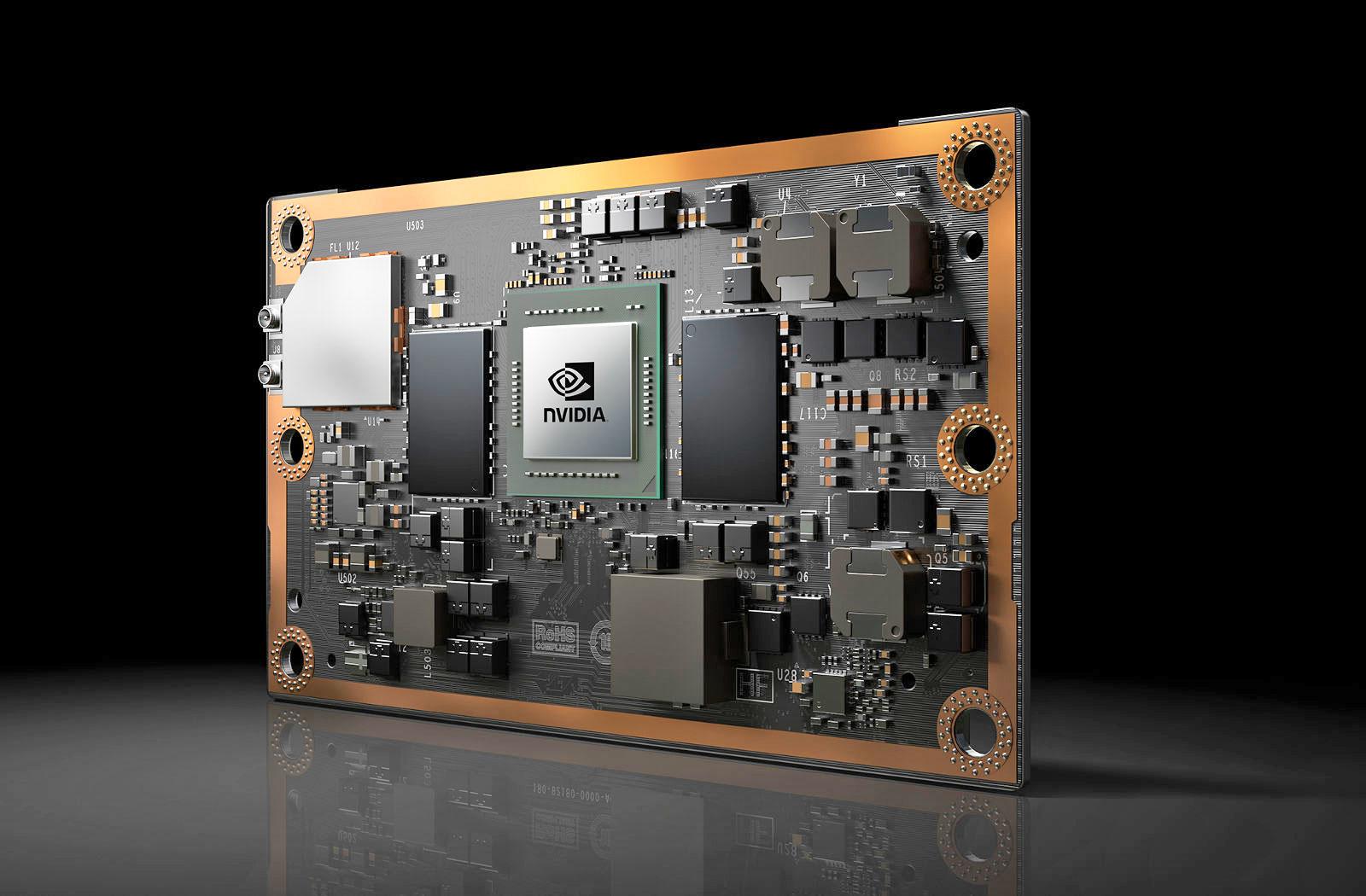 NVIDIA выводит нарынок Jetson TX2 для приложений IoT