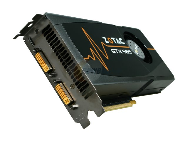ZOTAC ZT-40301-10P на базе GeForce GTX 465 (Fermi)