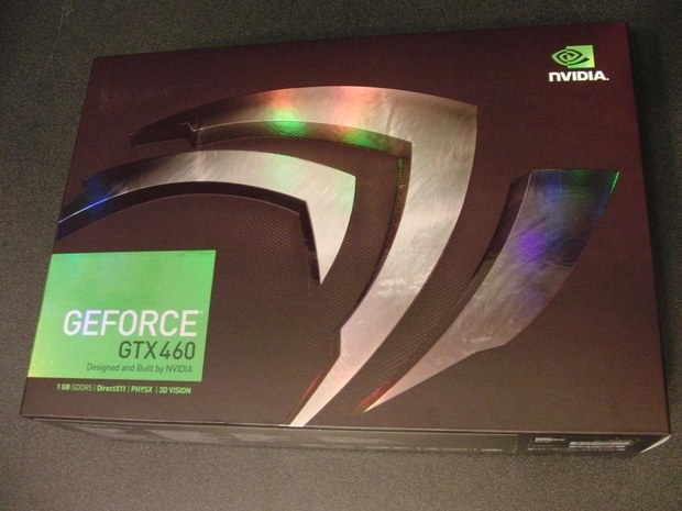 NVIDIA GeForce GTX 460 box