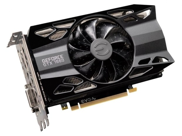 Видеокарта GeForce GTX 1660 от EVGA