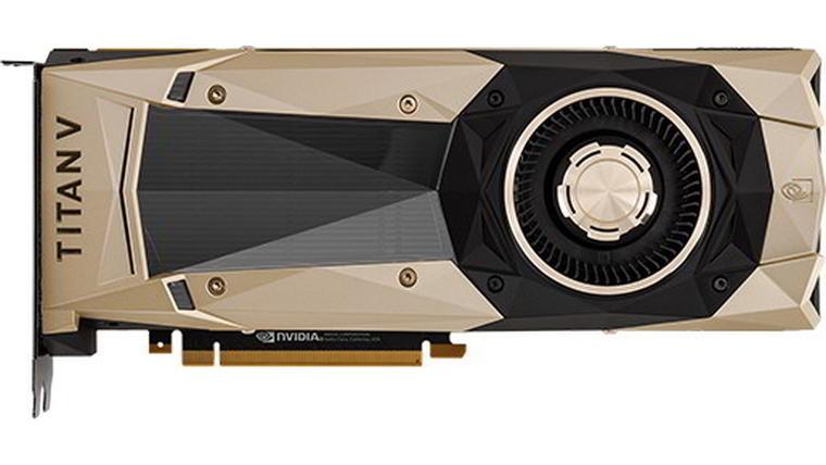 Видеокарта NVIDIA Titan Vстоит $3000